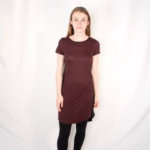 ALLSAINTS Dress Tunic with Mesh Side Panels 0160
